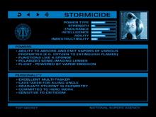 Stormicide
