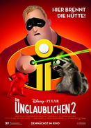 Incredibles 2 German Poster