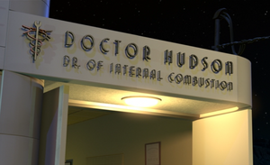 Doctor hudson dr of internal combustion