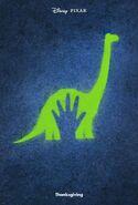 Der Gute Dinosaurier - Ankündigungsposter D23