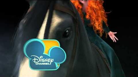 "Disney Channel bumper ""Brave"" Merida and Angus"