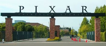 Pixar - front gates