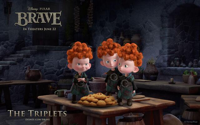 File:Brave-Triplets-Wallpaper.jpg