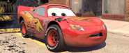 Lightning McQueen After His Lucky Sticker Gets Dirty From Bessie