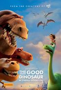 The Good Dinosaur International Poster
