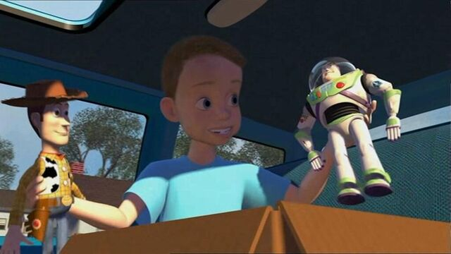 File:Andy, Woody and Buzz Lightyear.jpg