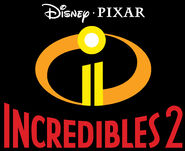 INCREDIBLES2 ICON LOGO 4C RED TYPE ON BLACK R 11 14 17