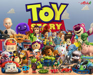 TOY STORY Wallpaper by Cepillo16