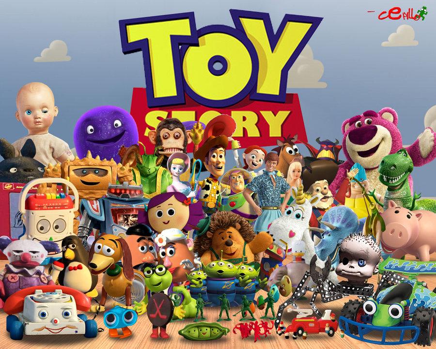Image Toy Story Wallpaper By Cepillo16 Jpg Pixar Wiki Fandom