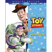 Toy Story Bluray and DVD
