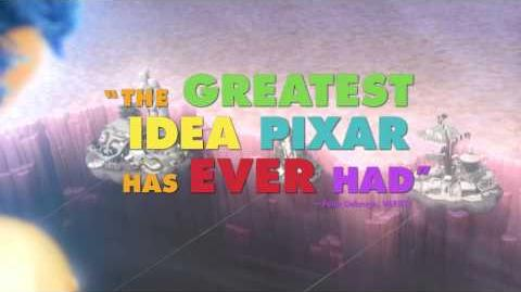 Disney Pixar's Inside Out in Theatres Now!