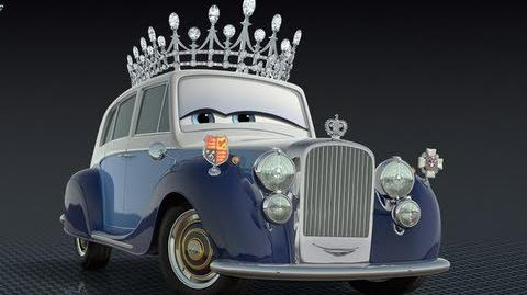 Being the Queen in Cars 2 the Video Game