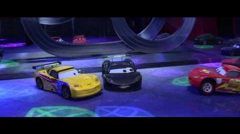Cars 2 Lewis Hamilton Jeff Gorvette Cameos - Clip