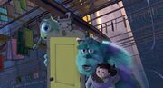Mike/Sulley/Boo (Mary)