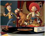 Woody, Jessie and Bullseye