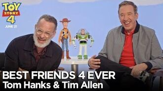 """Best Friends 4 Ever"" with Tom Hanks & Tim Allen - Toy Story 4"