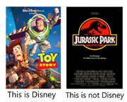 This is disney and this is not disney