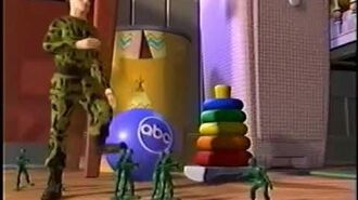 ABC Saturday Morning Toy Story Army Men Bumpers (1996-1997)