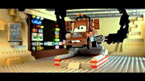 Disney•Pixar Cars LEGO - Mater's Brick Tales The Great Race Case