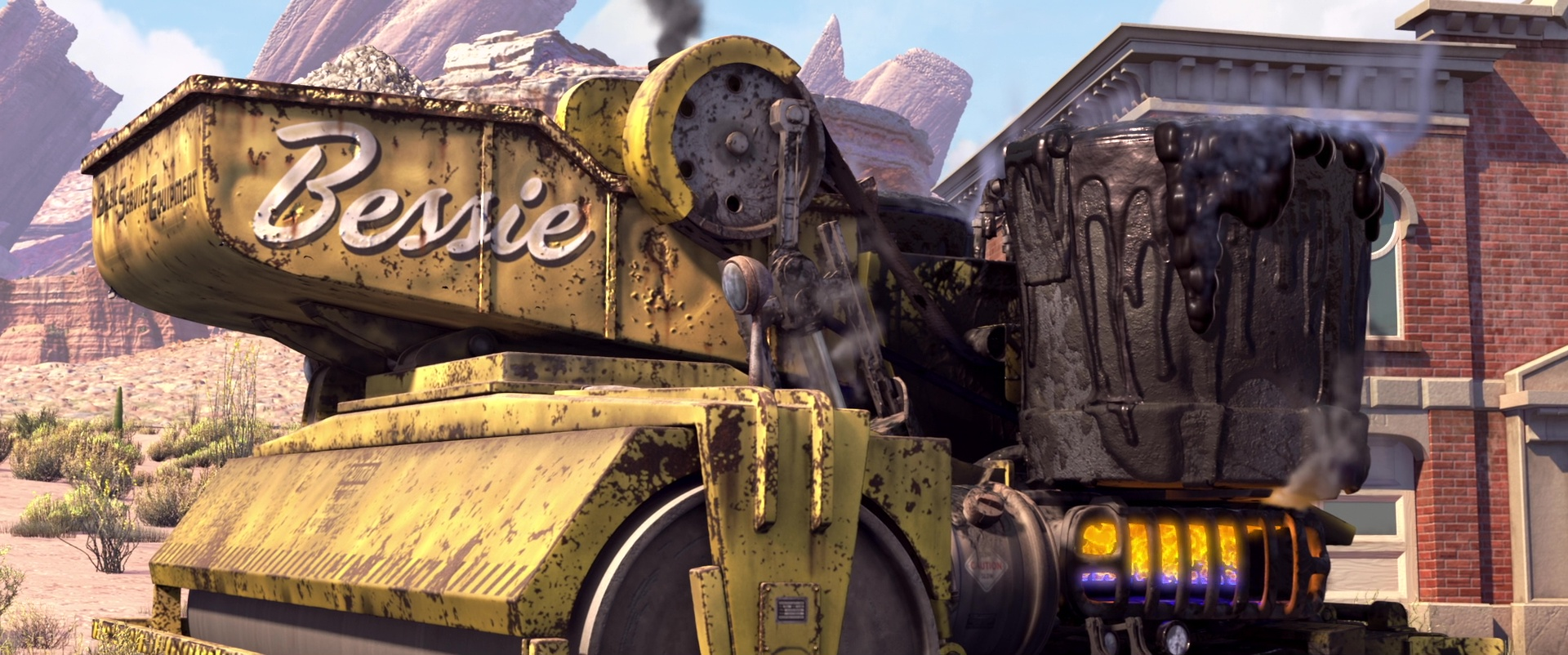 New Games Car >> Bessie | Pixar Wiki | FANDOM powered by Wikia