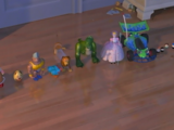Brinquedos de Andy