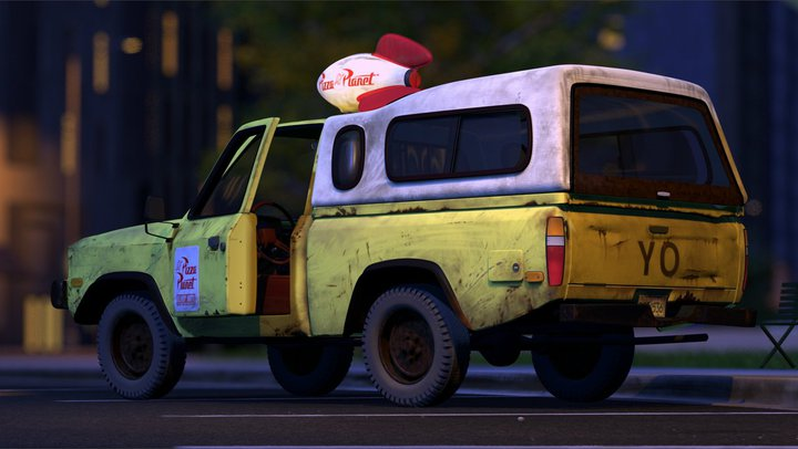 d7106bee81c The Pizza Planet truck is a 1978 Gyoza Mark VII Lite Hauler pickup truck  that is used to make deliveries for Pizza Planet in Toy Story.