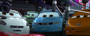 Cars 2 reporters tokyo