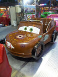 Mater on Race-O-Rama ride