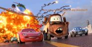 McQueen thinks Mater's movie is boring