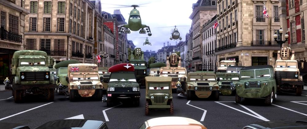 British Army Pixar Cars Wiki Fandom Powered By Wikia