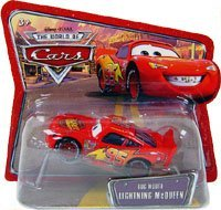 Bug mouth mcqueen world of cars short card
