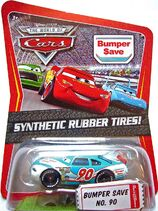 Bumper save rubber tires race o rama kmart