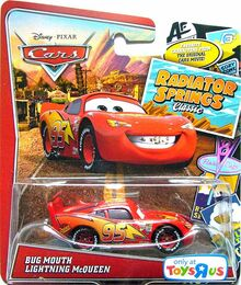 Bug mouth mcqueen radiator springs classic single