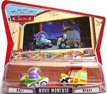 Buzz world of cars movie moments