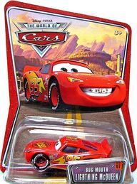 Bug mouth mcqueen world of cars single