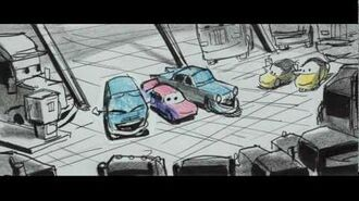 Deleted scenes of Cars
