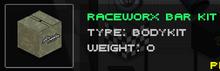 Raceworx Bar Kit