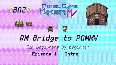 Episode 1 - Intro to Pixel Game Maker MV