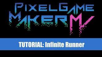 Infinite Runner Tutorial - Pixel Game Maker MV (Downloadable)