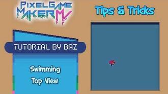Tips & Tricks - Swimming (Top View) - Pixel Game Maker MV