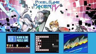 Block Slime Puzzle Cave - Circle VS Square - Accel Blaze - PGMMV Game Dev Challenge