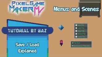 Load Explained - Pixel Game Maker MV