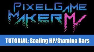 Stamina Bars Tutorial - Pixel Game Maker MV