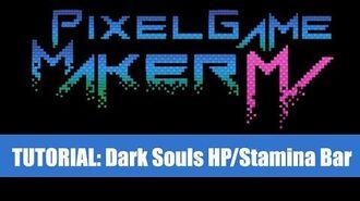 Dark Souls HP Bar - Pixel Game Maker MV