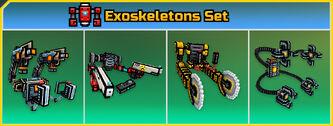 Exoskeletons Set