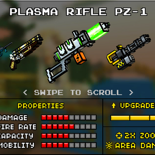 A former version of the Plasma Rifle in the old <a href=