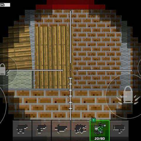 The Sniper Exoskeleton's 10x scope.