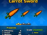Carrot Sword (PG3D)