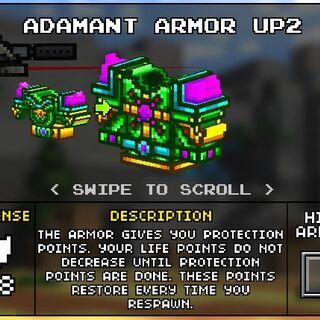 Heavy Adamant Armor.