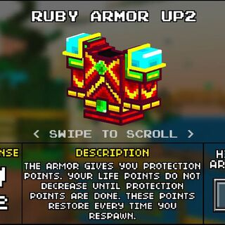 Heavy Ruby Armor.